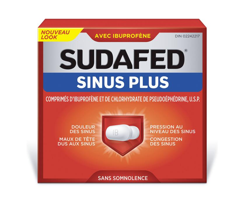 SUDAFED® SINUS PLUS